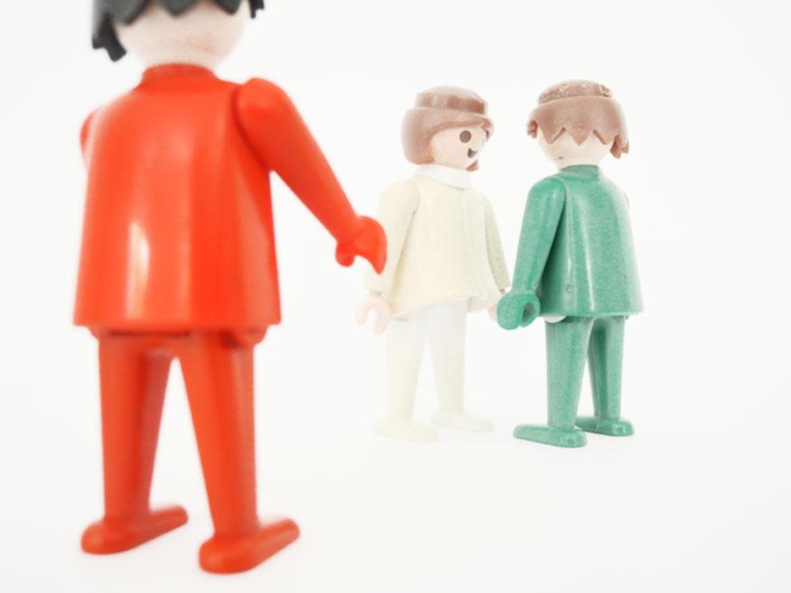 Paarberatung_Playmobilfiguren stehen als Symbol für die Klienten.